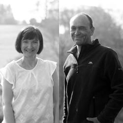 Peter Allott and Kath Jordan